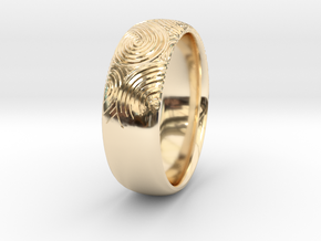 Custom RING For Her in 14K Yellow Gold