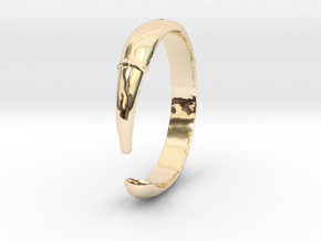 Single Claw Ring - Sz. 5 in 14K Yellow Gold
