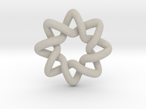 Basic Compass Knot in Natural Sandstone