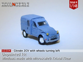 Citroën 250 - parked (British N 1:148) in Smooth Fine Detail Plastic