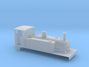 OOn3 CDJR class 2 4-6-0T in Smooth Fine Detail Plastic