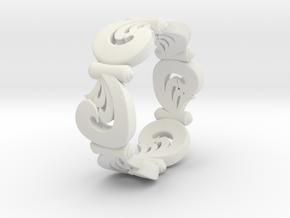 VORTEX SWELL in White Natural Versatile Plastic