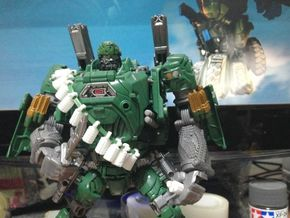 TF4: AOE Crosshairs Toy Grenade (dozen) in White Strong & Flexible