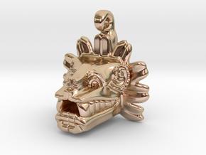 Quetzalcoatl dije in 14k Rose Gold