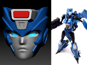 Chromia homage Indigo U128R Head For RID RC  in Frosted Ultra Detail