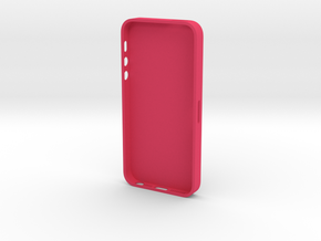IPhone 5 Case (wall thickness 1 mm) in Pink Processed Versatile Plastic