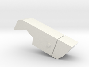 Carnifex Hand Cannon - Box Section in White Natural Versatile Plastic