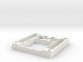 Heatsink Mount LT8490 in White Natural Versatile Plastic