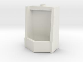 Urinal-40In in White Natural Versatile Plastic