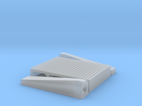 """1/24 Intercooler 12"""" Flow Length By 16"""" Wide in Smooth Fine Detail Plastic"""