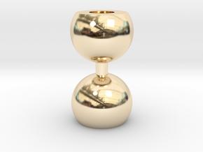 Ikebana Vase-10 in 14K Yellow Gold