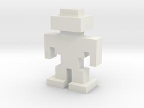 Robotron G.R.U.N.T. Large in White Natural Versatile Plastic