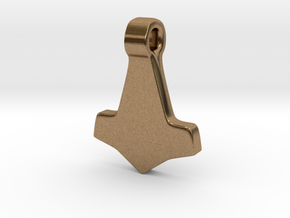 Thors Hammer #3 in Natural Brass