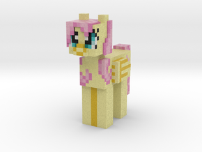 Fluttershy in Full Color Sandstone