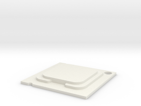 CPU Pendent  in White Natural Versatile Plastic