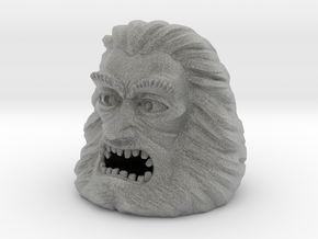 Zardoz Head in Metallic Plastic