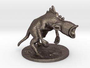 Destrachan in Polished Bronzed Silver Steel