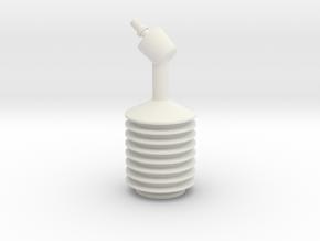 Uhura Cosplay Earpiece in White Natural Versatile Plastic