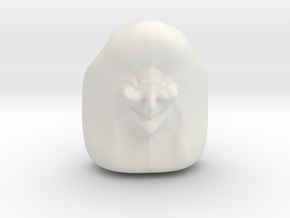 Witch Head (repaired) (repaired) in White Natural Versatile Plastic