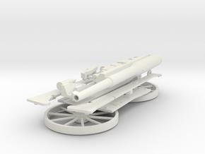SCHNEIDER 75 AVEC ROUES in White Natural Versatile Plastic
