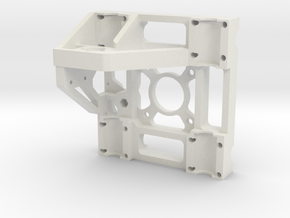 ExtendYPlateRevC-Shapeways in White Natural Versatile Plastic