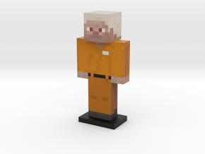 Prisoner Steve in Full Color Sandstone