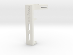 Zenmuse H3-3D Holder Clip in White Natural Versatile Plastic