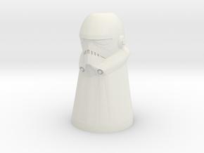 SW Trooper Pawn in White Natural Versatile Plastic