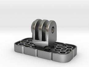 VEX IQ GoPro Adapter W Locknut in Natural Silver