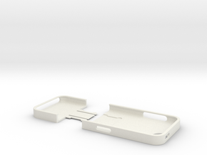 iPhone5 Case (Two Part) in White Natural Versatile Plastic