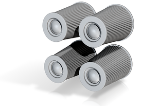 1/24 K&N Cone Style Air Filters TDR 4970 in Frosted Ultra Detail