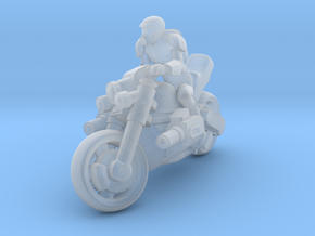 Marauder Bike in Smooth Fine Detail Plastic: 15mm