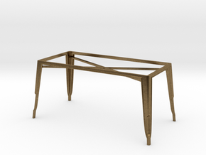 1:24 Pauchard Dining Table Frame, Large in Natural Bronze