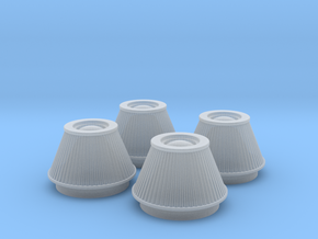 1/24 K&N Cone Style Air Filters TDR 4600 in Frosted Ultra Detail