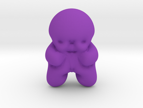 Jelly Baby in Purple Processed Versatile Plastic