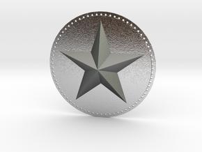 Captain America Upper Arm Star V2 in Natural Silver