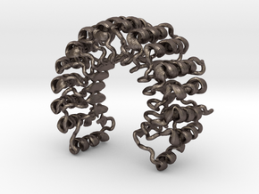 Ribonuclease Inhibitor in Polished Bronzed Silver Steel