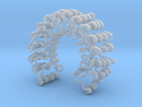 Ribonuclease Inhibitor in Smooth Fine Detail Plastic