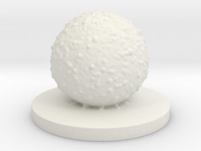 Cell in White Natural Versatile Plastic