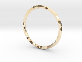 Poly Ring in 14K Gold