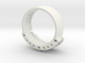 US14 Ring VI: Tritium in White Natural Versatile Plastic