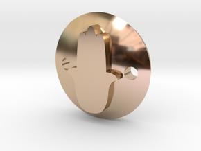 Fatma Hand bracelet in 14k Rose Gold