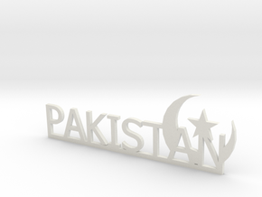 Pakistan Small in White Natural Versatile Plastic