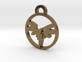 Wonderbolt Medallion in Polished Bronze