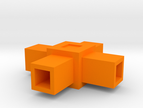 Assembly Parts Small C4 Sym in Orange Strong & Flexible Polished