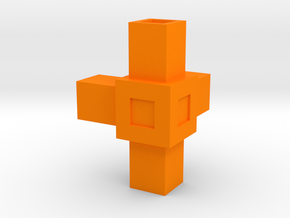 Assembly Parts Small C4 in Orange Processed Versatile Plastic