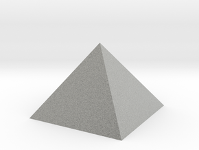 Pyramid 74mm Hollow 0p975 Square Johnson 74mm Holl in Metallic Plastic