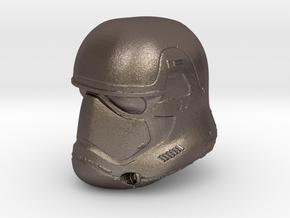 Miniature Episode 7 StormTrooper Helmet in Stainless Steel