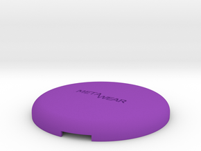 MetaWear USB Round Upper 915 in Purple Processed Versatile Plastic