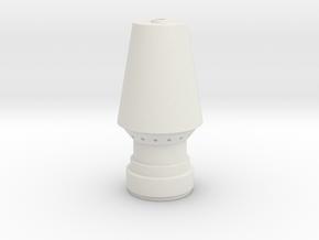 JP Rocket Bottom in White Natural Versatile Plastic